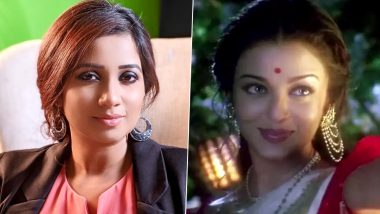 Shreya Ghoshal Birthday Special: Did You Know The Talented Singer Sang For Aishwarya Rai Bachchan In Devdas When She Was Just 16?