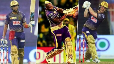 IPL 2021: Shubman Gill, Andre Russell and Other KKR Players To Watch Out for in Indian Premier League Season 14