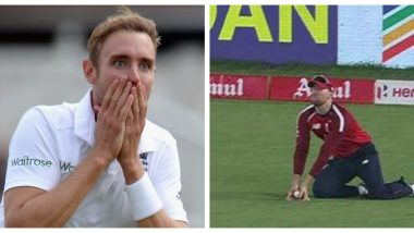 Stuart Broad Reacts to Suryakumar Yadav's Controversial Dismissal During IND vs ENG 4th T20I 2021, Says 'David Malan's Twitter Feed Will be Ugly'