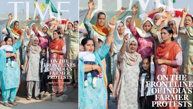 TIME Magazine Cover Carries The Women of India's Farmer Protests