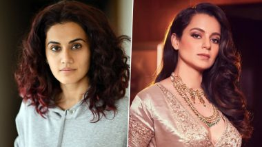 Taapsee Pannu Takes a Dig at Finance Minister After Recent Income Tax Raid; Kangana Ranaut Replies 'You Will Always Remain Sasti'