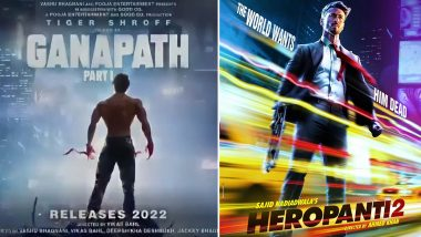 Tiger Shroff Birthday Special: From Heropanti 2 to Ganapath Part I, Every Upcoming Movie of the Bollywood Action Star