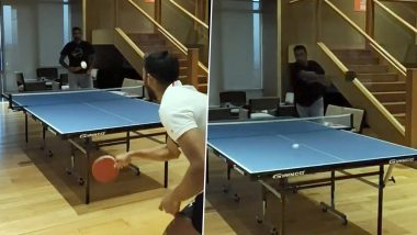 Ravi Ashwin Shows-Off His Table Tennis Skills, Asks Olympian Raman Subramaniam For Feedback (Watch Video)