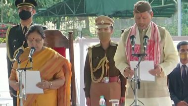 Uttarakhand: Tirath Singh Rawat Takes Oath as Chief Minister (View Pictures)
