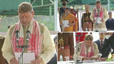 Tirath Singh Rawat Sworn In as Next Chief Minister of Uttarakhand