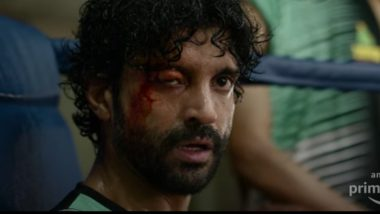 Toofaan Teaser Out! Farhan Akhtar Packs a Powerful Punch in This Rakeysh Omprakash Mehra's Boxing Film (Watch Video)