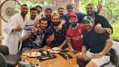 Virat Kohli, Rohit Sharma, Krunal Pandya & Others Celebrate India's 66-Run Win Over England in 1st ODI (View Pics)