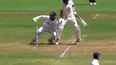 Virat Kohli Hits Joe Root in Groin Area With Wayward Throw During IND vs ENG 4th Test in Ahmedabad (Watch Video)