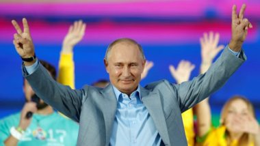 Russian President Vladimir Putin Felt Minor Side Effects After Taking First Shot of COVID-19 Vaccine: Report