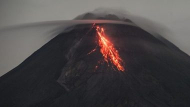 Volcano Erupts in Nearly Two Decades Near Congolese City of Goma; Crowds Flee