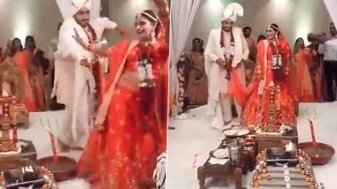 Video of Bride and Groom Dancing While Taking 'Pheras' at Wedding Goes Viral, Sparks Mixed Reactions on Social Media
