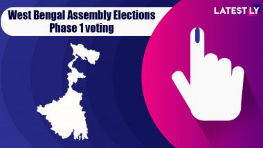 West Bengal Assembly Elections 2021 Phase 1: Voting for 30 Vidhan Sabha Seats Underway; 191 Candidates in Fray