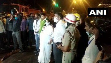 Kolkata Fire: Seven Killed in Blaze at Railways Building on Strand Road, CM Mamata Banerjee Announces Ex-Gratia of Rs 10 Lakh to Kin of Each Victim