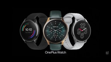 OnePlus Watch With 46mm Circular Dial & AMOLED Display Launched; Priced In India at Rs 16,999