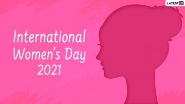 Happy International Women's Day 2021 Wishes & Greetings: HD Images, Wallpapers, GIF Messages, WhatsApp Stickers & SMS to Celebrate Womanhood