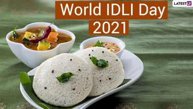 World Idli Day 2021 Date & History: Twitter Abuzz With Idli Pics, Informative Posts, Wishes, Greetings & Funny Memes About the Fermented Breakfast Food Item