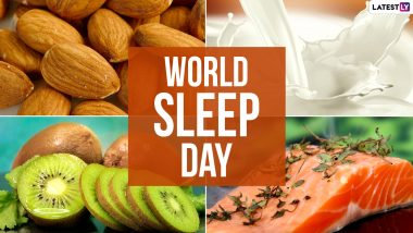 World Sleep Day 2021: From Almonds to Milk, Here Are 7 Foods You Should Eat For A Good Night Sleep