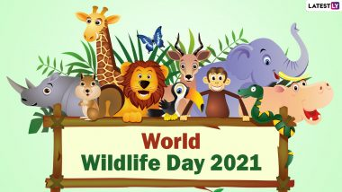 World Wildlife Day 2021 Date, History and Signifiance: Know More About the Day Dedicated to Raising Awareness of the Flora and Fauna on Earth