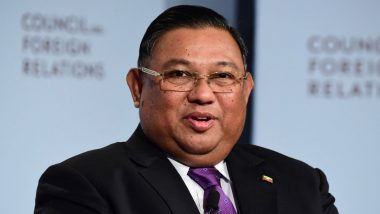 Myanmar Foreign Minister U Wunna Maung Lwin Attends Virtual ASEAN Meeting