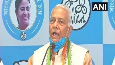 West Bengal Assembly Elections 2021: TMC Appoints Yashwant Sinha as Party's Vice President, Inducts Him in Its Working Committee