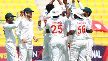 Afghanistan vs Zimbabwe 2nd Test 2021 Live Streaming Online: Get AFG vs ZIM Cricket Match Free TV Channel and Live Telecast Details in India