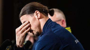 Zlatan Ibrahimovic Gets Emotional on Sweden Return After Four Years, Breaks Down in Tears When Asked About Family's Reaction (Watch Video)