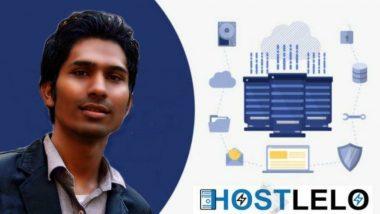 Meet Zubair Shaikh The Founder Of Hostlelo.com The Leading Hosting Provider For Small And Medium Industry In India