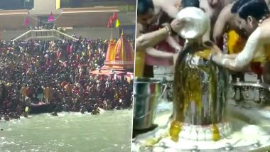 Maha Shivratri 2021 Celebration in Pics & Videos: From Haridwar to Ujjain's Mahakal Temple, Here's How Devotees Are Observing the Great Night of Shiva