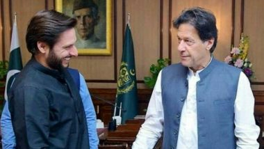 Shahid Afridi Wishes Imran Khan Speedy Recovery After Pakistan PM Tests COVID-19 Positive
