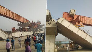 Haryana Bridge Collapse: Under Construction Flyover on Gurugram-Dwarka Expressway Near Daulatabad Collapses; 2 Injured