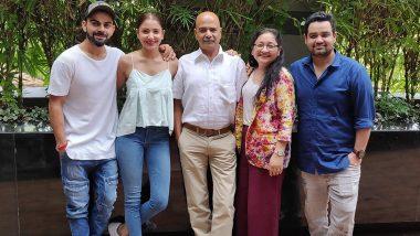 Anushka Sharma Celebrates Father's 60th Birthday with Heartfelt Instagram Post