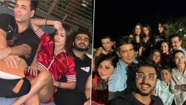 Malaika Arora, Arjun Kapoor, Karan Johar, Gauri Khan Have A Gala Time At Amrita Arora's House Party (View Pics)