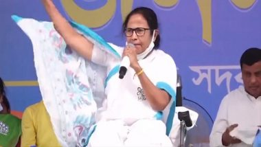 West Bengal Assembly Elections 2021: Mamata Banerjee Banned From Campaigning For 24-Hours; TMC Chief to Sit on Dharna