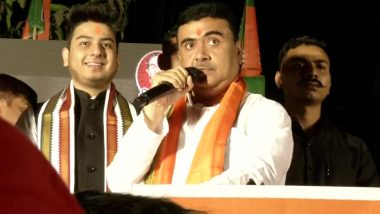 West Bengal Assembly Elections 2021: 'If TMC Comes Back to Power, West Bengal Will Become Kashmir', Says Suvendu Adhikari, BJP Candidate From Nandigram