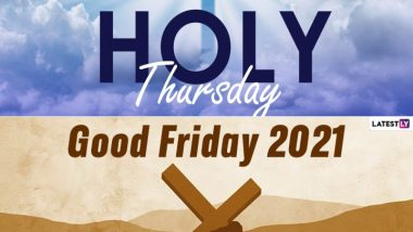 Holy Week in Christianity: 2021 Calendar With Full Dates of Palm Sunday, Good Friday and Easter Sunday