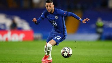 Hakim Ziyech & Emerson Palmieri Lead Chelsea to 2-0 Win Over Atletico Madrid, Blues Qualify for Quarter-Finals in UCL 2020-21 (Watch Goal Highlights)