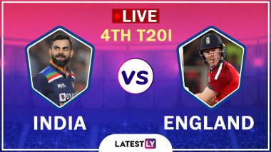 India vs England 4th T20I 2021 Highlights: IND Beat ENG by 8 Runs, Level Series 2-2