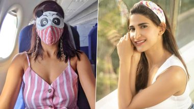 Aahana Kumra Shares a Picture From Jaipur Airport Wearing a Kung Fu Panda Mask, Calls It Her 'New Travelling Face'!