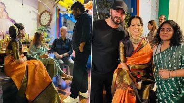 Kangana Ranaut Shares Glimpse of Her 34th Birthday Bash; Anupam Kher, Ashwiny Iyer Tiwari, Vivek Agnihotri and More Joined the Party (View Post)