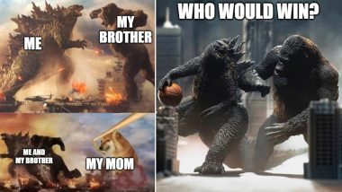 Godzilla vs Kong Funny Meme Templates for Free Download Online: Are You Ready for the Ultimate Battle? These Hilarious Jokes Will Prep You Up for the Movie