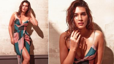 Kriti Sanon Welcomes Summer in a Stunning Multicoloured Dress and Amitabh Bachchan Approves of It (View Pic)