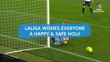 Holi 2021 Wishes: La Liga Greets Fans on the Occasion of Festival of Colours (Watch Video)