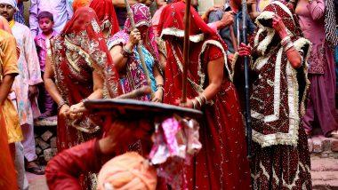 Braj Ki Holi 2021 Dates and Calendar: Barsana, Lathmar, Dhulandi and Others, Know Full Schedule of Holi Celebrations at Mathura and Vrindavan