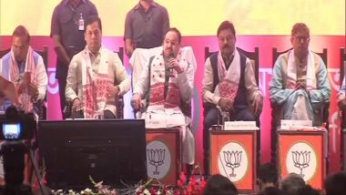 Assam Assembly Elections 2021: CAA Will Be Implemented in Letter and Spirit, Congress Fooling People, Says BJP Chief JP Nadda
