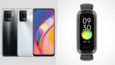 Oppo F19 Pro, Oppo F19 Pro+ & Oppo Band Style Launched, Priced in India From Rs 21,490