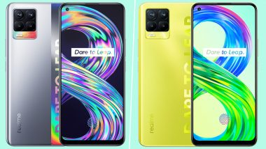 Realme 8 & Realme 8 Pro Launched in India, Prices Start at Rs 14,999