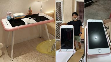 Teen Who Ordered Cheap iPhone Online Receives iPhone-Shaped Coffee Table Instead! Pics Go Viral