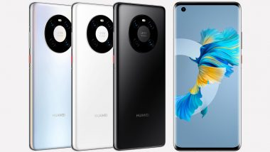 Huawei Mate 40E With Kirin 990E SoC & Triple Rear Cameras Launched in China