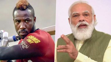 Andre Russell Thanks PM Narendra Modi for Sending COVID-19 Vaccines to Jamaica (Watch Video)