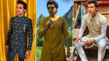 Parth Samthaan Birthday: 5 Pictures to Prove That the Actor Looks Hot in Ethnic Wear (View Pics)